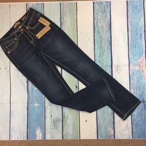 NEW Nine West Vintage America Straight Jeans 2 26